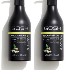 GOSH - 2 x Macadamia Oil Shampoo 450 ml
