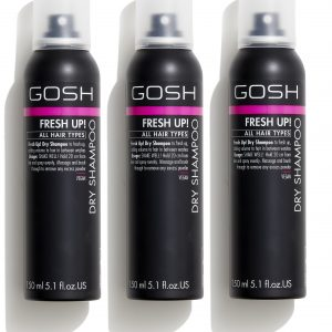 GOSH - 3 x Fresh Up Dry Shampoo 150 ml