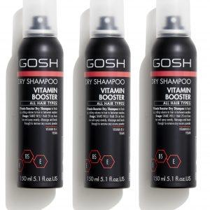 GOSH - 3 x Vitamin Booster Dry Shampoo 150 ml