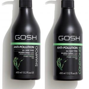 GOSH - Anti Pollution Shampoo 450 ml + Anti Pollution Conditioner 450 ml