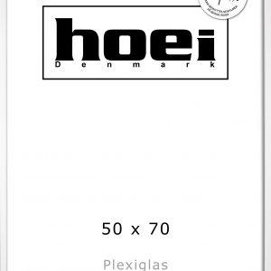 Hoei Denmark - Hoei 115 Frame Plexiglass 50 x 70 cm - White (801159050070)