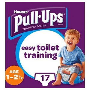 Huggies - Pull Up Cars 1-2 år -17 Pcs