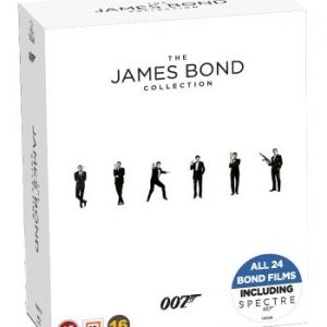 James Bond - Collection Box Incl. Spectre (24 disc)