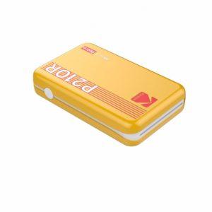 Kodak - Mini 2 Plus Retro Mini Printer - Yellow
