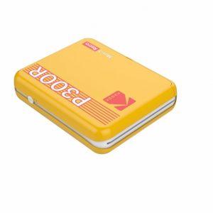 Kodak - Mini 3 Plus Retro Mini Printer - Yellow