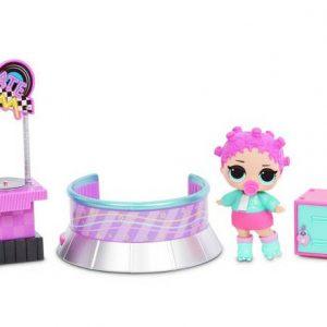 L.O.L. Surprise - Furniture with Doll Wave 2 - Roller Sk8er