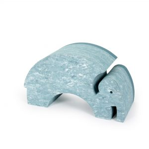bObles Elefantti - Vaaleansininen marmori