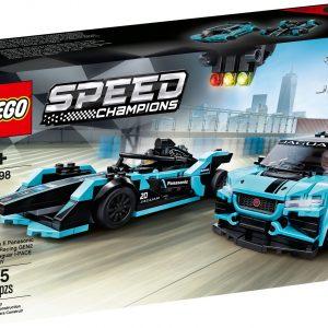 LEGO Speed Champions - Formula E Panasonic Jaguar Racing GEN2 car & Jaguar I-PACE eTROPHY (76898)