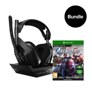 ASTRO A50 Wireless + Base Station & Marvel's Avengers - Bundle XB1 4/PC