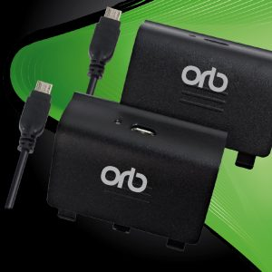 Dual Controller Charge and Play Battery Pack for Xbox One (ORB)