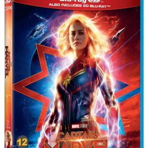 Captain Marvel 2D+3D - Blu ray