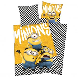 Bed Linen - Adult Size 140 x 200 cm - Minions (89252421)