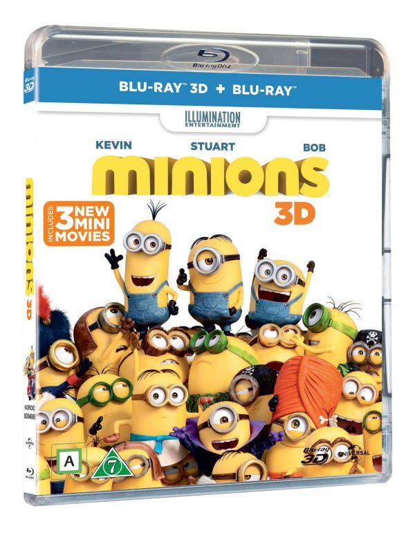 Minions 3D+2D - Blu ray