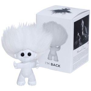 Good Luck Troll - Gjøl Trold 12 cm. - White/White (92951)