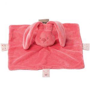 Nattou - Cuddling Cloth - Coral Pink