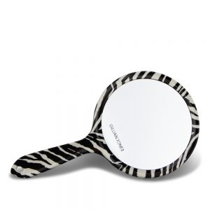Gillian Jones - 2 side Hand Mirror - Zebra