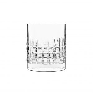 Luigi Bormioli - Mixology Charme Whisky Lowball Glass 38 cl - 4 pack (12328-02)