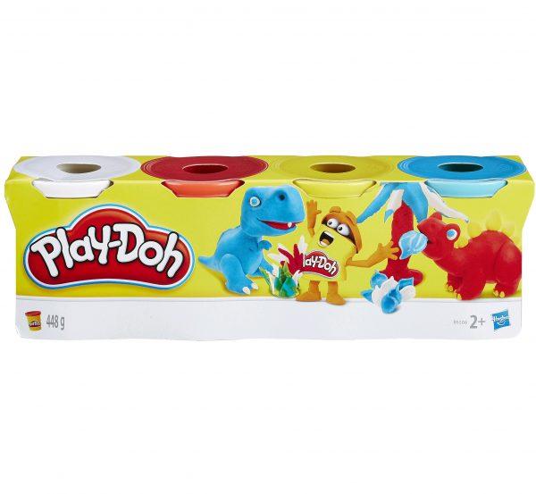 Play Doh - 4 Tubs (B5517)