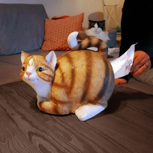 Cat Tissue Holder (04636)