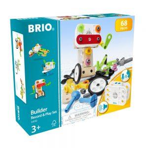 BRIO - Builder Record & Play Set (34592)