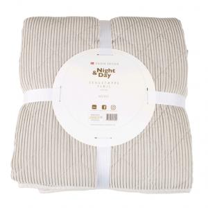 Night & Day - Bedspread Velvet 220x240 cm - Sand (2105)