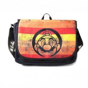 Nintendo - Super Mario Retro Striped Messenger Bag