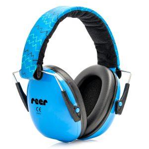 Reer - SilentGuard Kids capsule ear protectors, Blue (53083)