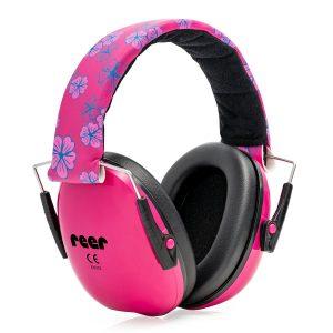 Reer - SilentGuard Kids capsule ear protectors, Rose (53094)