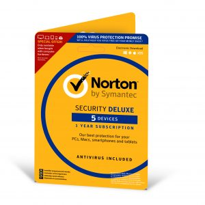 Norton Security Deluxe Subscription Card 1 year - Nordic