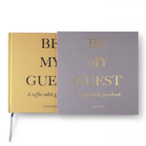 Guest Book - Beige/Yellow (PW00322)