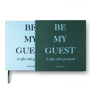 Guest Book - Green/Blue (PW00374)