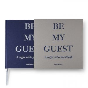 Guest Book - Grey/Navy (PW00373)