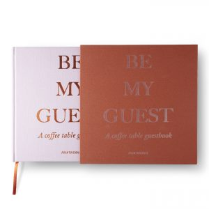 Guest Book - Rust/Pink (PW00375)