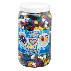 Hama Beads - Maxi - Beads in bucket - 1400pcs (8540)