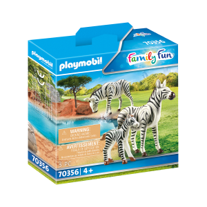 Playmobil - 2 zebras with foal (70356)