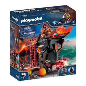 Playmobil - Burnham Raiders - Fire Attack Tower (70393)