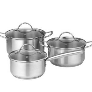 Pillivuyt - Loire Pot Set 6 parts - Steel (71266801)