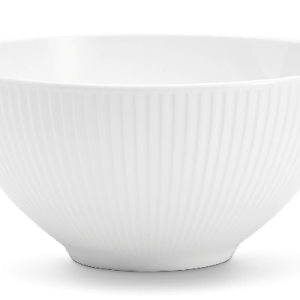 Pillivuyt - Plissé Bowl - Ø25 cm - White (174225)