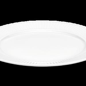 Pillivuyt - Plissé Plate Flat - Ø28 cm - White (214228)