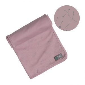 Vinter & Bloom - Northern Lights Blanket Jersey - Stella Pink