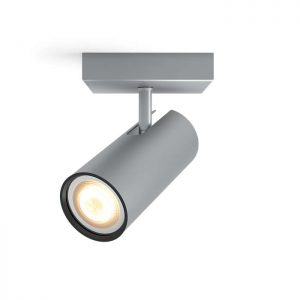 zz Philips Hue - Buratto Single Spot Without Remote Aluminium - White Ambiance - E