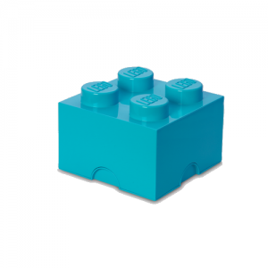 Room Copenhagen - LEGO Storeage Brick 4 - Medium Azur (40031743)