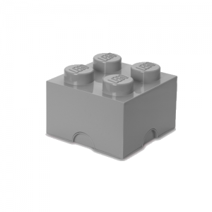 Room Copenhagen - LEGO Storeage Brick 4 - Stone Grey (40031740)
