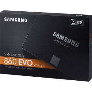 "Samsung - SSD 860 EVO 250GB 2.5"" SATA"