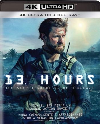 13 Hours 4K Blu ray