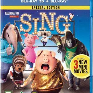 Sing/Syng (3D + 2D Blu-Ray)