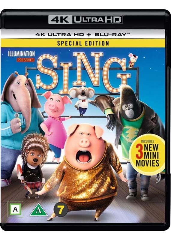 Sing/Syng (4K Blu-Ray)