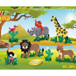 Hama Beads - Midi - Giant Gift Box - Safari (3041)