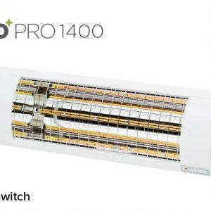 Solamagic - 1400 ECO+ PRO Patio Heater W/Switch - White