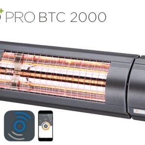 Solamagic - 2000 ECO+ PRO Patio Heater - Bluetooth Controlled - Antracite